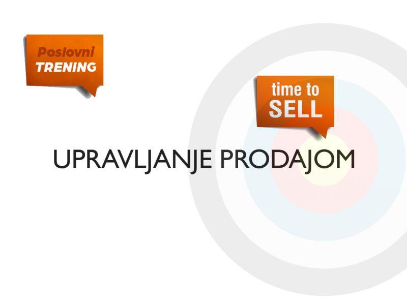Upravljanje prodajom
